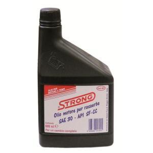 l_olio motore 4t rasaerba_
