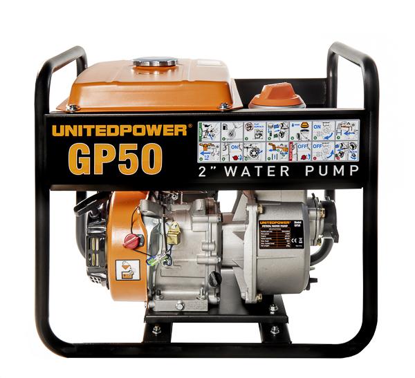MOTOPOMPA auto-adescante a scoppio United Power GP 50