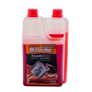 Olio speciale OLEO-MAC PROSINT 2 EVO 1L Dosatore