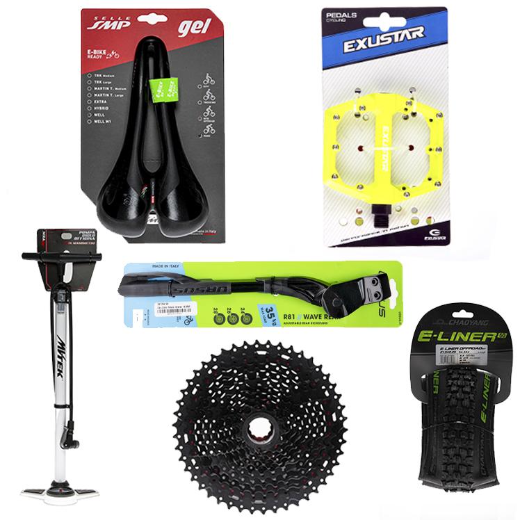 Ricambi e accessori per biciclette